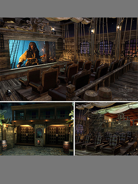 10 Coolest Home Theater Setups (6)