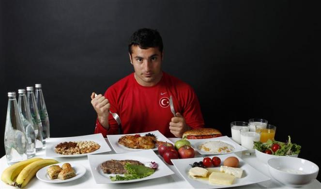 Turkish javelin thrower and Olympic hopeful Fatih Avan