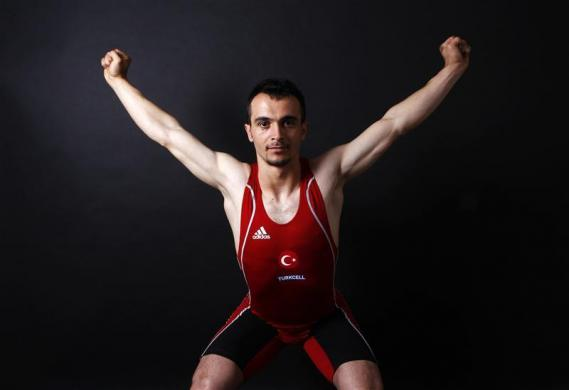 Turkish weightlifter and Olympic hopeful Mete Binay