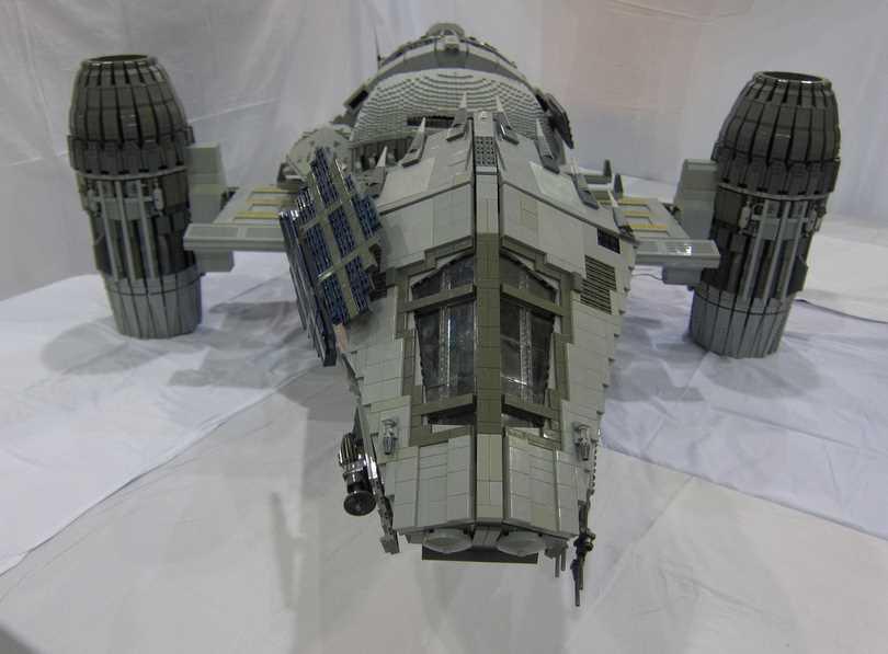 Stunning 7-Foot-Long LEGO SERENITY Ship
