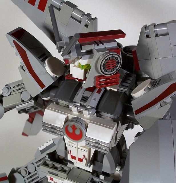 X-Wing Gundam – STAR WARS LEGO