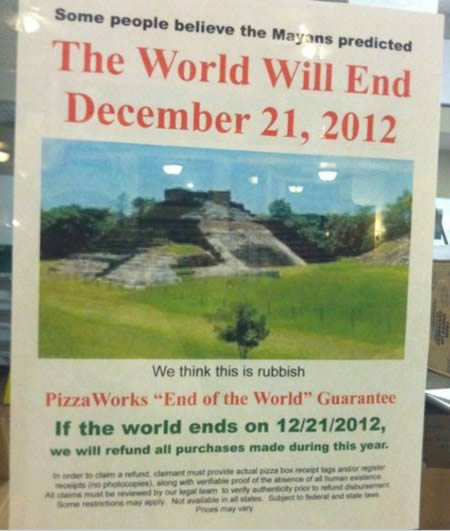Hilarious End Of The World Signs (9)