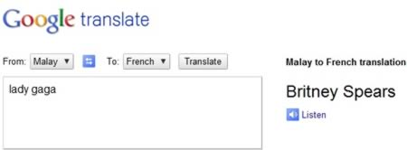 Funniest Findings in Google Translate