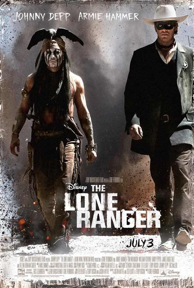 THE LONE RANGER - New Poster and Super Bowl Teaser