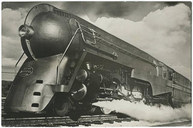 New York Central Twentieth Century Limited steam locomotive 5453