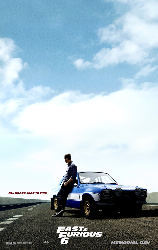 'Paul Walker' FAST AND FURIOUS 6 Poster
