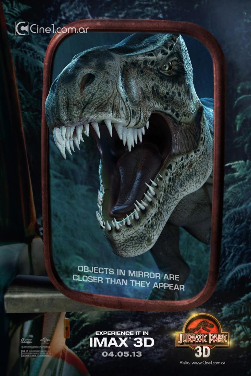 JURASSIC PARK IMAX Poster