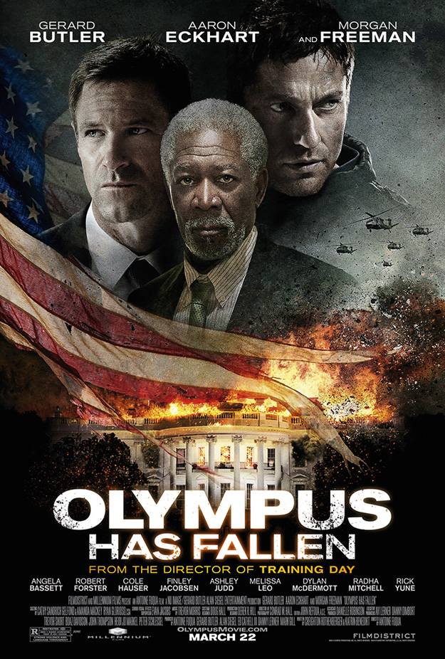 TV Spot and Poster's For OLYMPUS HAS FALLEN
