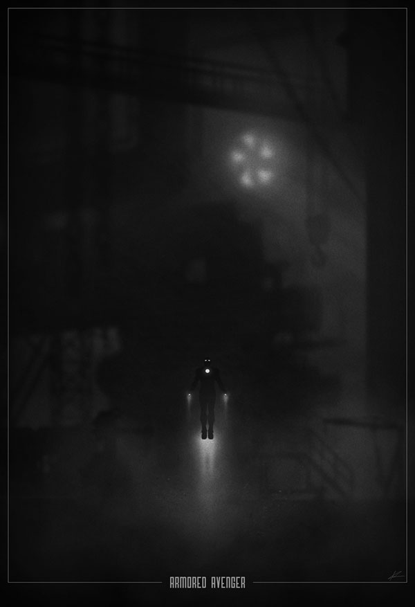 iron man Noir Movie Posters