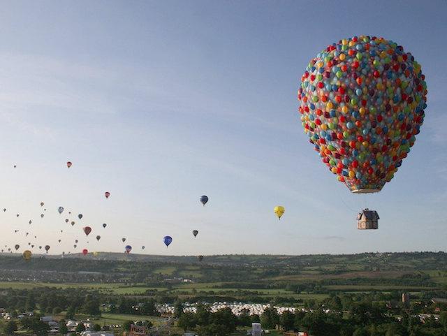 A Real-Life 'Up' Inspired Hot Air Balloon