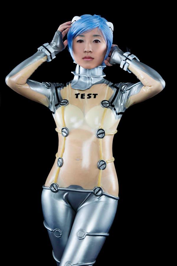 Rei Ayanami Test Suit