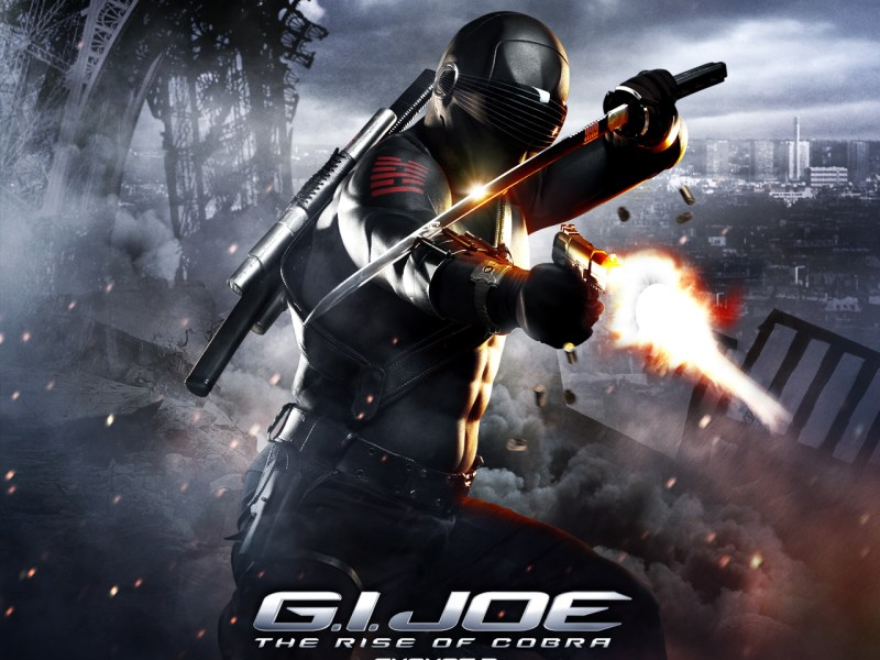NEW Snake Eyes and Storm Shadow Fight in New G.I. JOE Clip