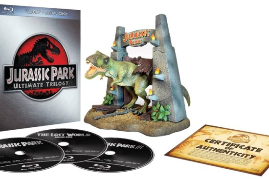 jurassic park boxset