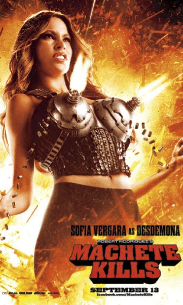 First Look At Sofia Vergara In Machete Kills