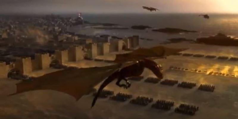 season 3 game of thrones dragons