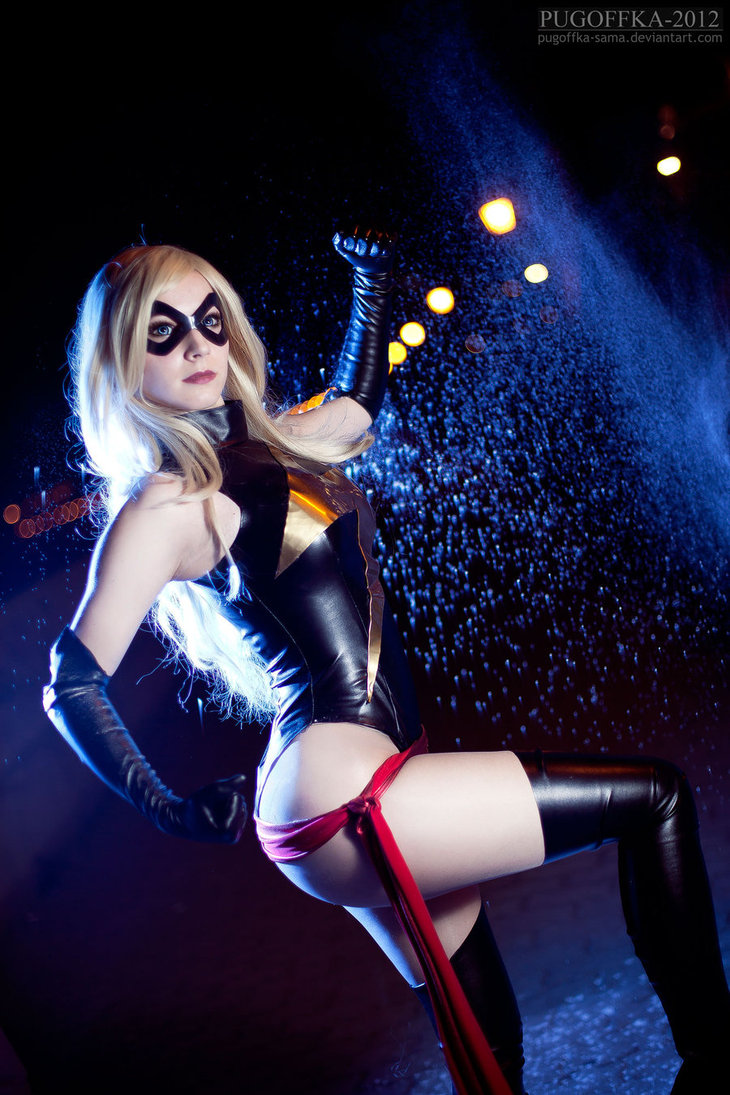 ms marvel cosplay hot