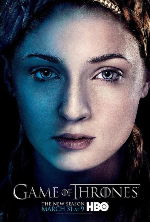 sansa game of thrones season 3 poster