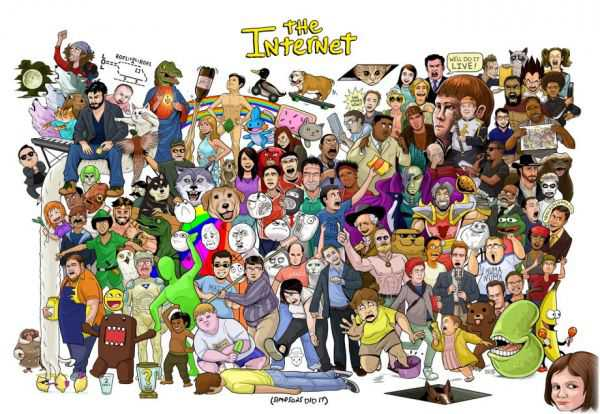 Entire Internet In One Poster