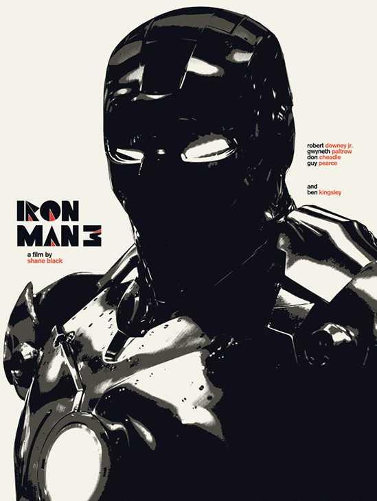 Alternative Iron Man 3 Posters