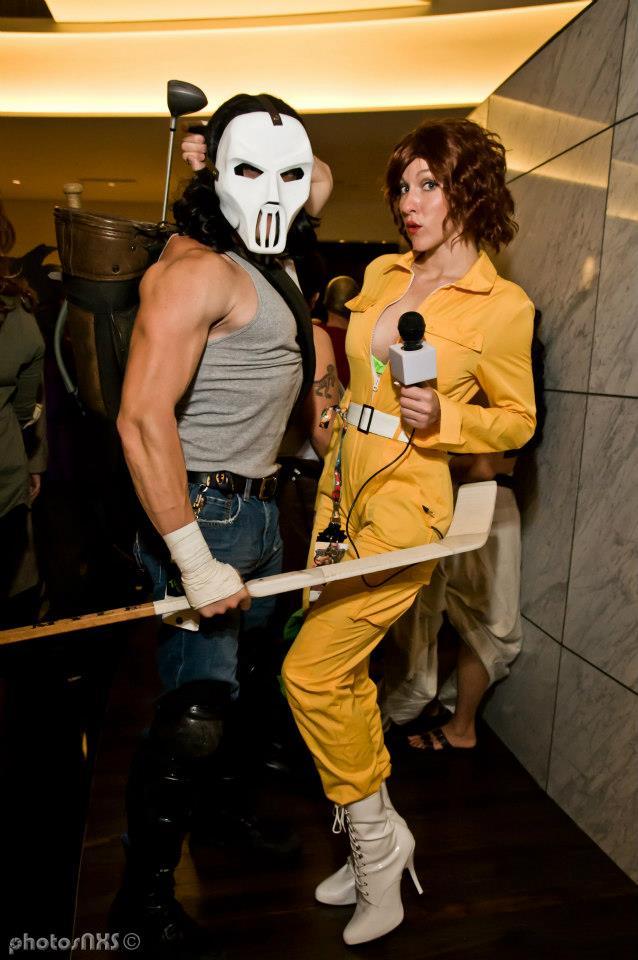 Casey Jones and April O'Neil - Dragoncon 2012