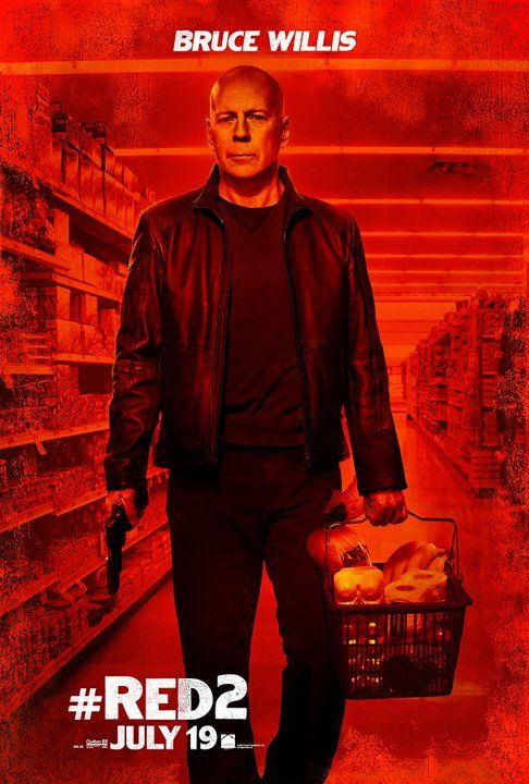 red 2 character posters