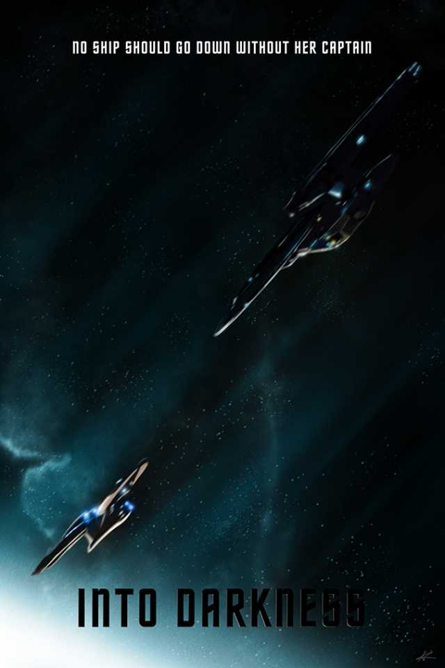 STAR TREK INTO DARKNESS Fanmade Posters