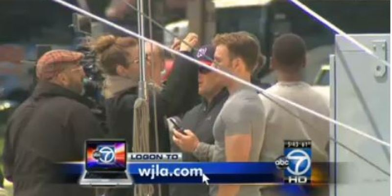 Videos From the Captain America Set in Washington D.C.