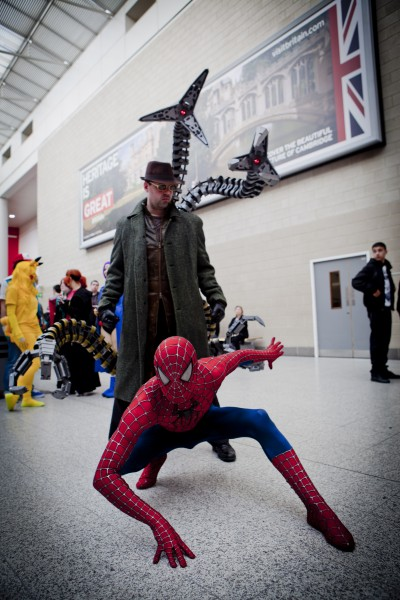 spider man cosplay