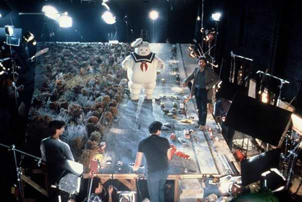Behind the scene photo of Ghostbusters