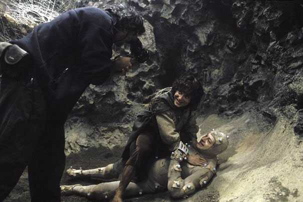 Behind the scene photo from The Lord of The Rings