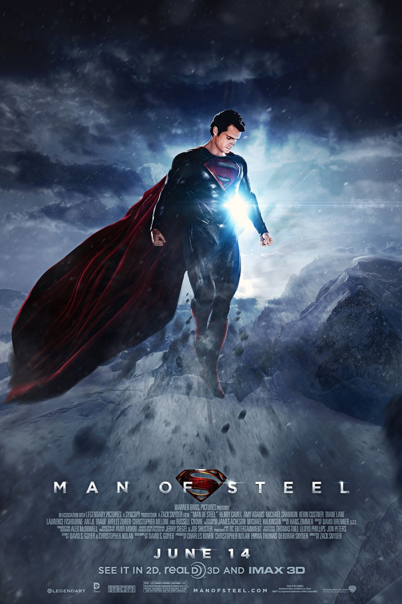 New TV Spot with New Footage For MAN OF STEEL