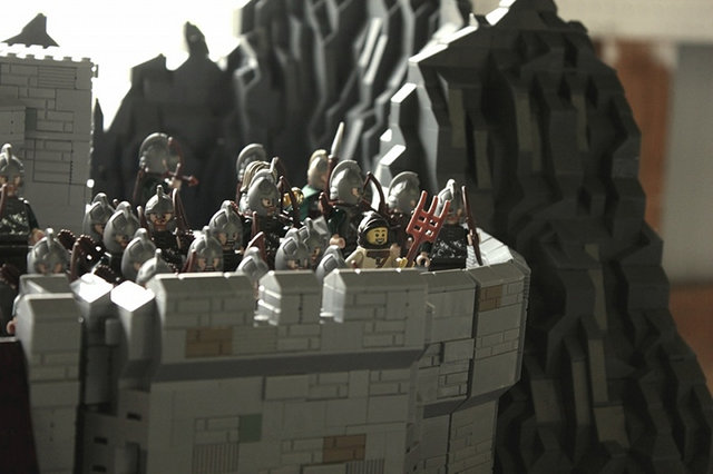 lego Lord Of The Rings Battle Of Helm's Deep