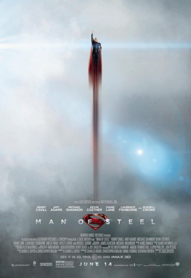 Man Of Steel Posters