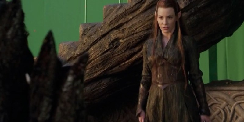 Evangeline Lilly in hobbit