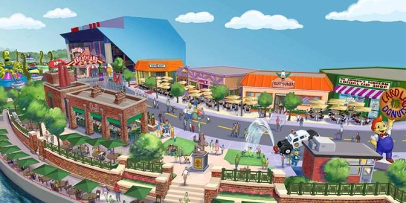 THE SIMPSONS Theme Park Announced