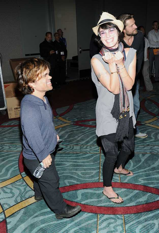 Cersei being silly with Tyrion