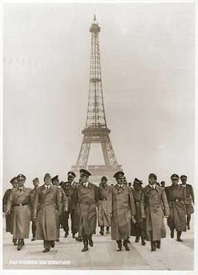 Hitler in Paris.