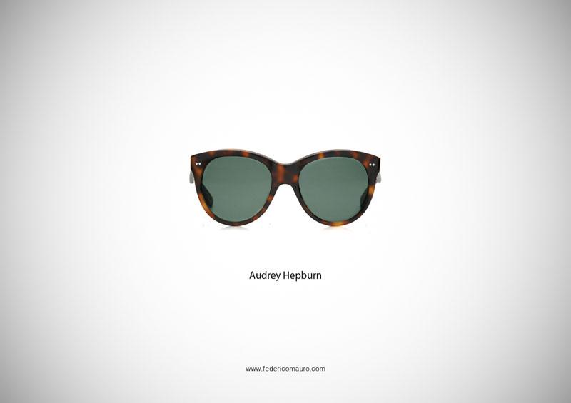 audrey hepburn glasses