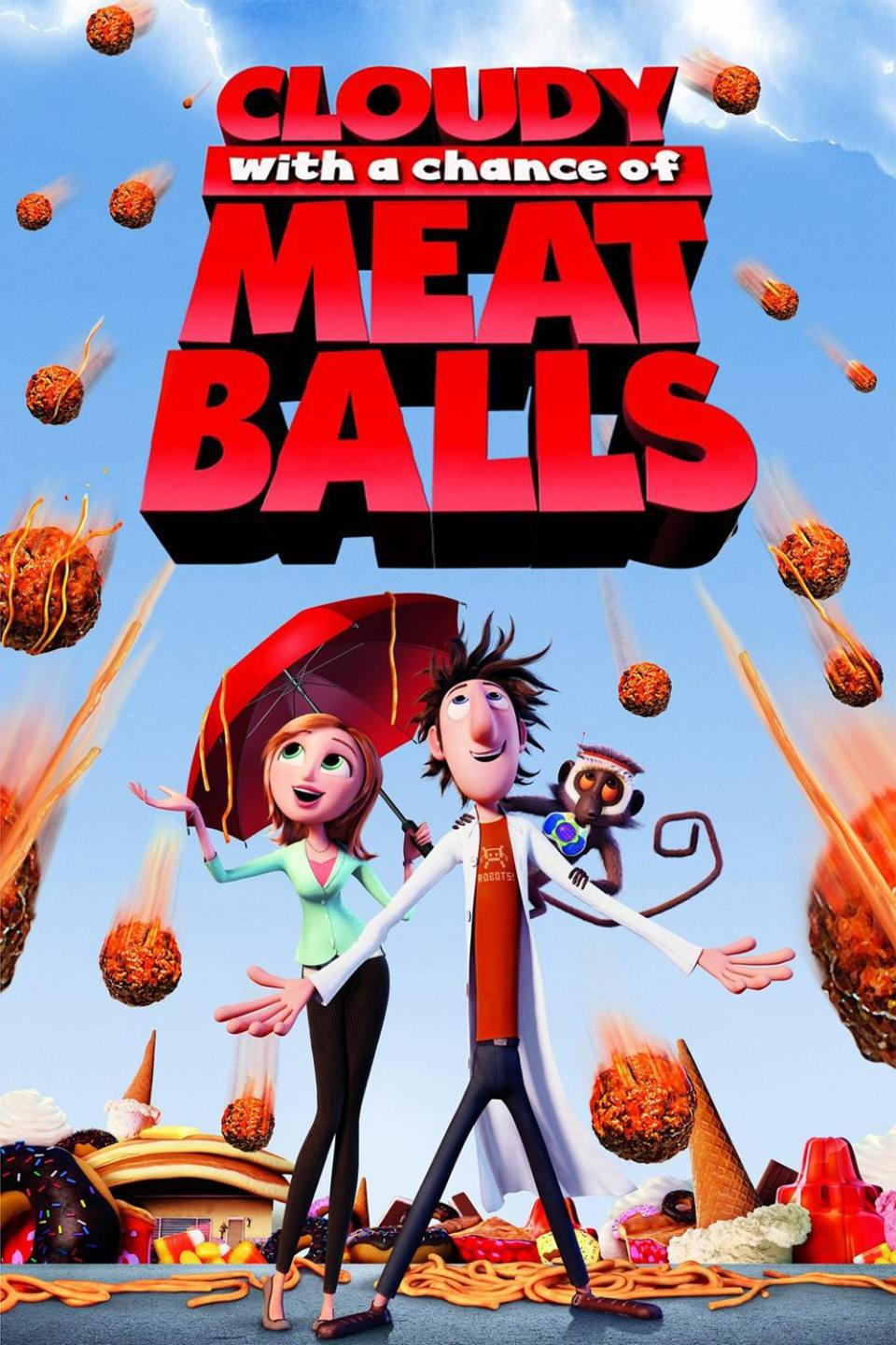CLOUDY WITH A CHANCE OF MEATBALLS 2 HD poster
