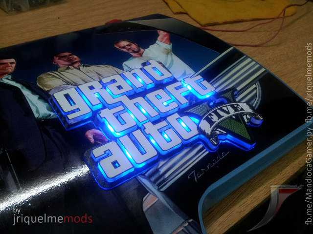 Impressive Customized Game-Related PS3s