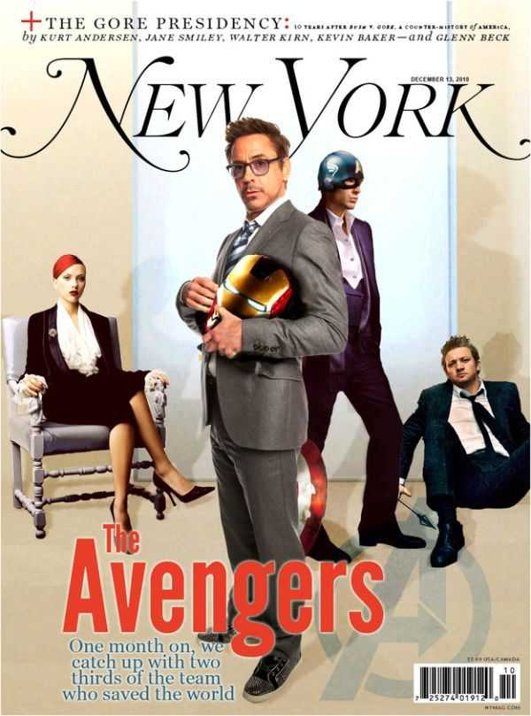 Real-Life Magazines Portrayed As If the Avengers Were Real