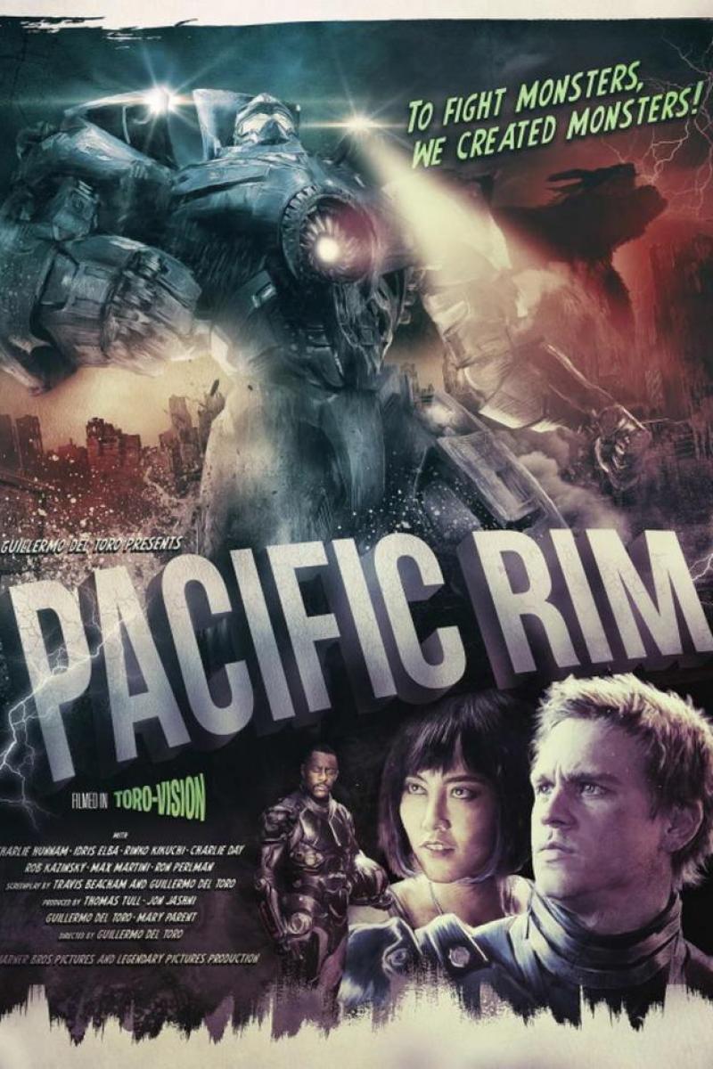 Pacific Rim Fanart poster