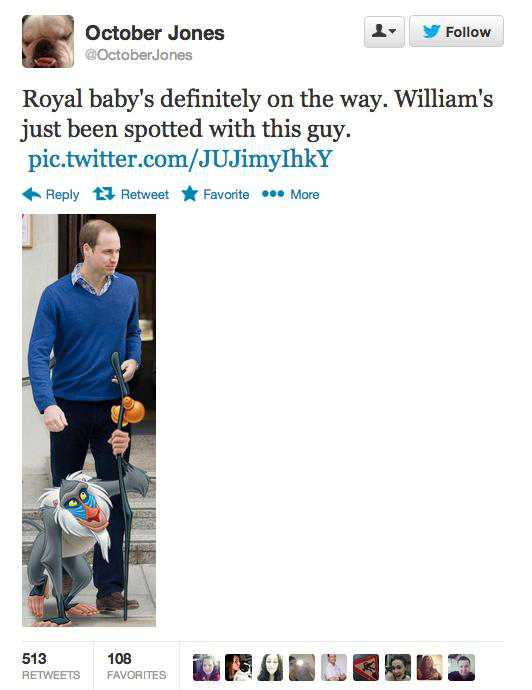 Funny Tweets About the Royal Baby