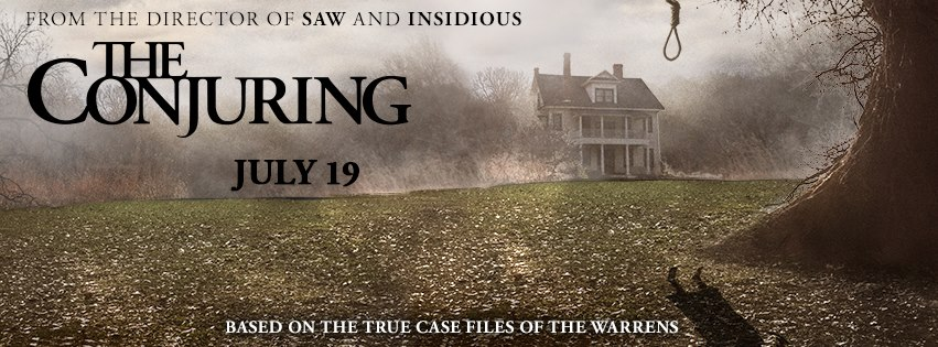 The Conjuring Banner