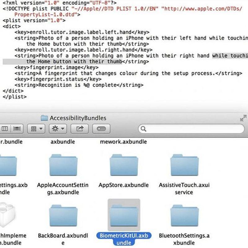 apple 5s thumbprint scanner