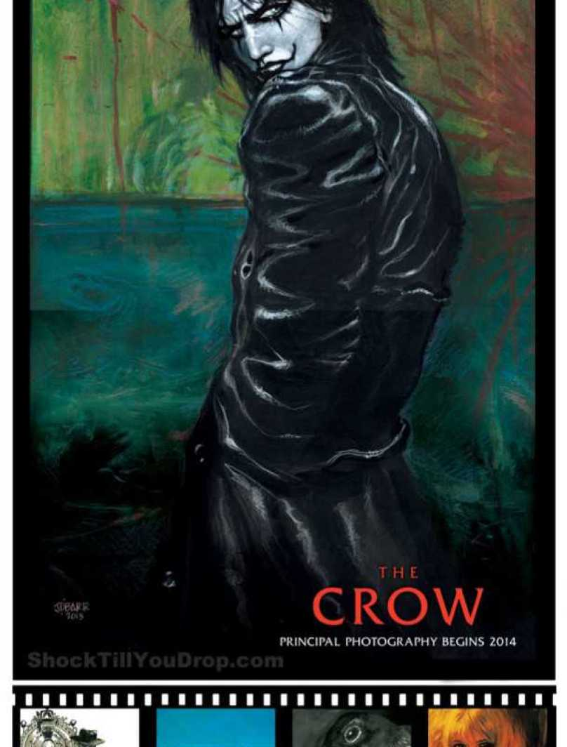 Comic-Con: The Crow Reboot
