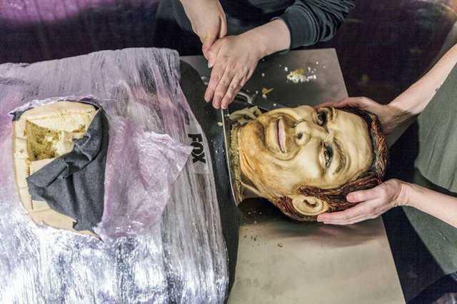 Hyper Realistic Dexter Morgan Cake