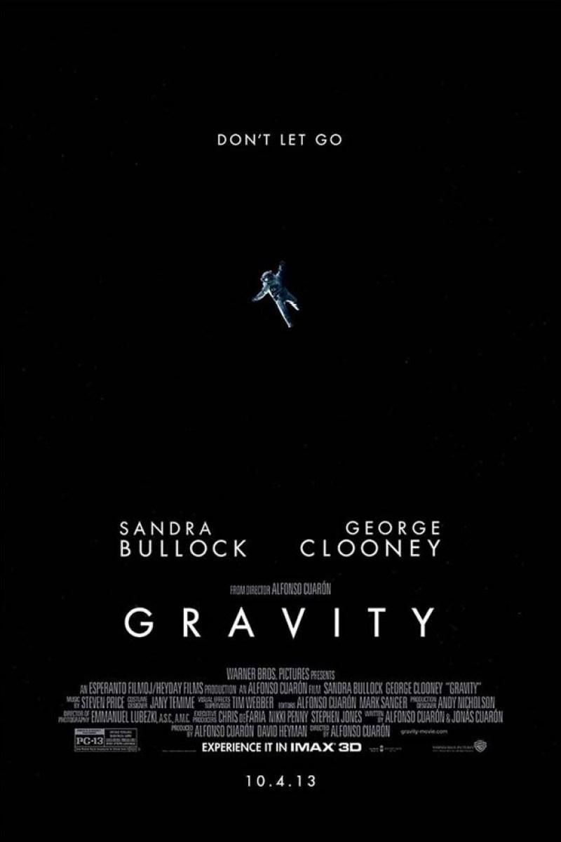 Gravity's IMAX Poster