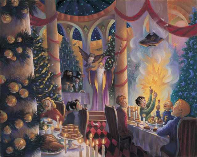 Unpublished Illustrations From Harry Potter