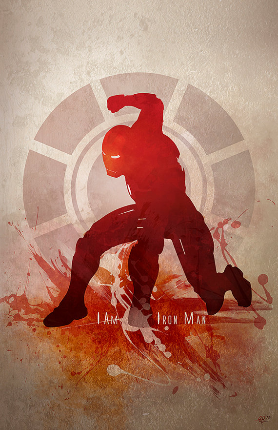 Iron Man Art Poster